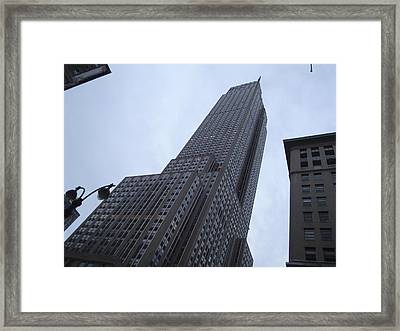 Empire State No 1 Framed Print by Dan Andersson