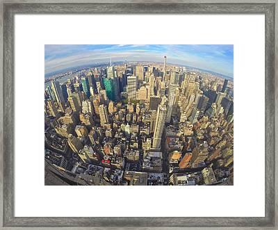 Empire State Vista Framed Print