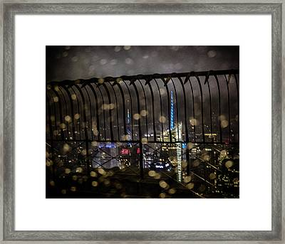 Empire View Framed Print by Martin Newman