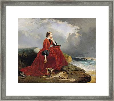 Empress Eugenie Framed Print by E Defonds