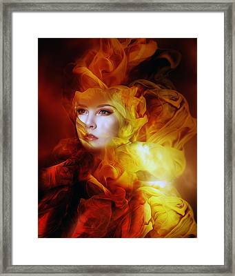 Empress Framed Print