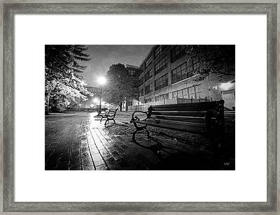 Framed Print featuring the photograph Emptiness by Everet Regal