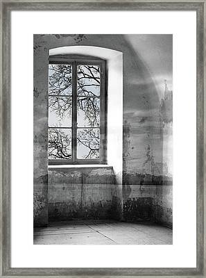 Framed Print featuring the photograph Emptiness by Munir Alawi
