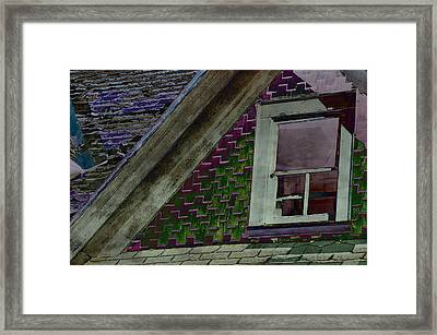 Empty And Cold Framed Print by Jan Amiss Photography