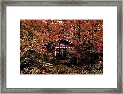 Empty And Forgotten Framed Print by Michael Eingle