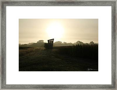 Empty Bin Framed Print