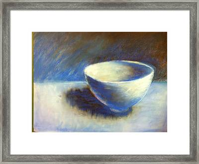 Empty Bowl Framed Print by Jeff Levitch