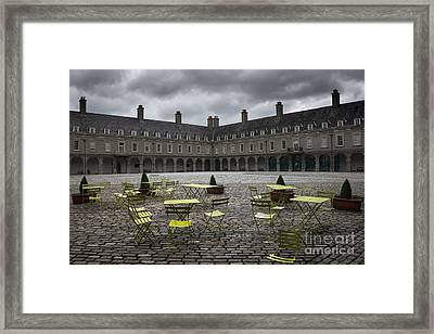 Empty Cafe Framed Print