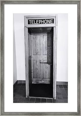 Empty Calling Framed Print