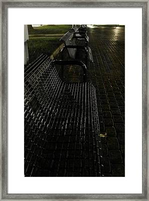 Empty  Framed Print by Carl Perry