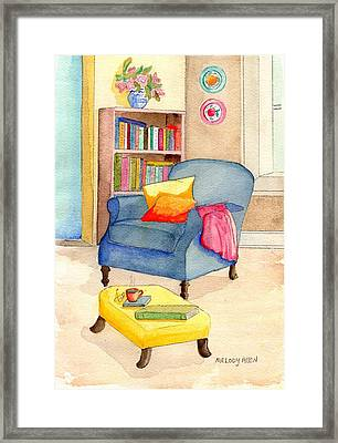 Empty Chair Series 1 Framed Print by Melody Allen