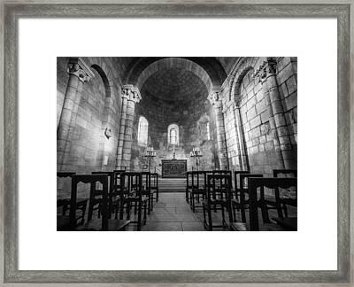 Empty Chapel Framed Print by Kristopher Schoenleber