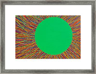 Empty Cup 1 Framed Print by Kyung Hee Hogg
