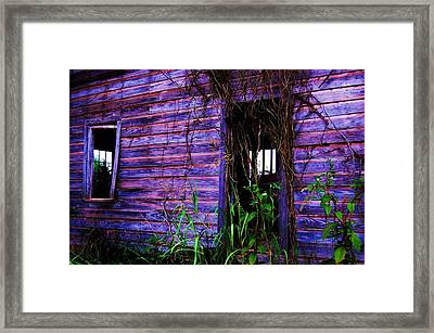 Empty Days Framed Print by Beverly Hammond