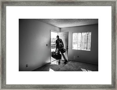 Framed Print featuring the photograph Empty by Eric Christopher Jackson