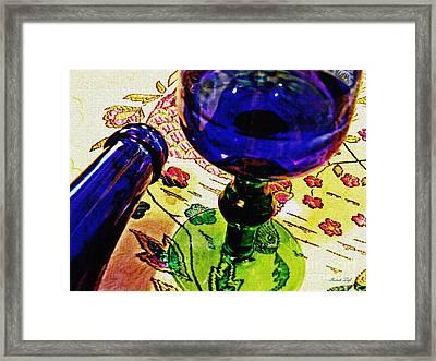 Empty Glass 2 Framed Print