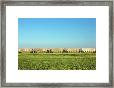 Empty Hoppers Framed Print by Todd Klassy
