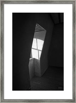 Empty Room II Bw Framed Print by David Gordon