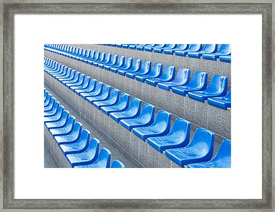 Empty Seats Framed Print