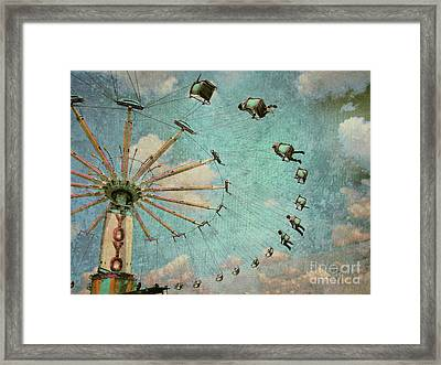 Empty Seats Framed Print by Tara Turner