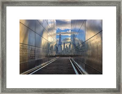 Empty Sky Memorial Framed Print by Rick Berk