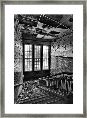 Empty Stair Framed Print