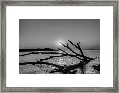 Empty Sunset Framed Print