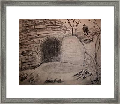 Empty Tomb Framed Print by Spencer  Joyner