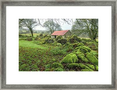 Emsworthy Farm - Dartmoor Framed Print