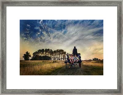 En El Camino Framed Print by Hans Wolfgang Muller Leg