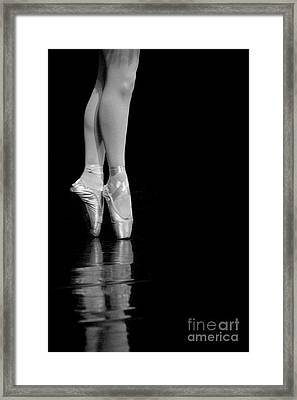 En Pointe Framed Print by Jeannie Burleson