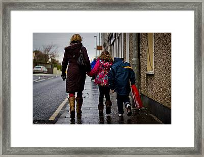 En Route To Sweets Framed Print