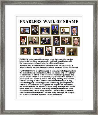Enablers Framed Print