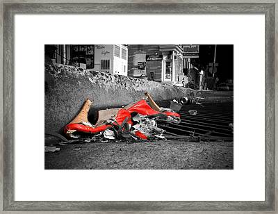 Enabling Framed Print by Kevin Brett