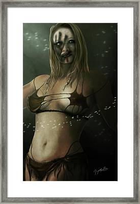 Enah Of The Northern Clan Framed Print