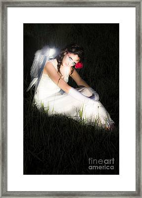 Enchanted Angel Framed Print by Jorgo Photography - Wall Art Gallery