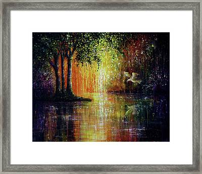 Enchanted Forest Framed Print by Ann Marie Bone