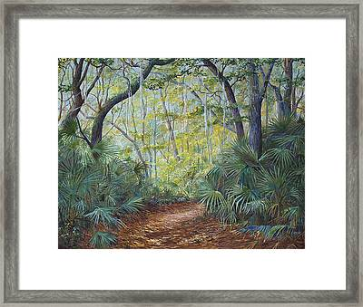 Enchanted Bend Framed Print