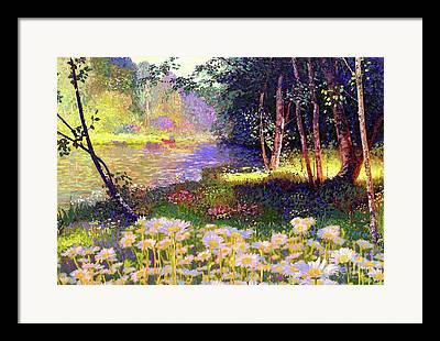Marguerite Flowers Framed Prints