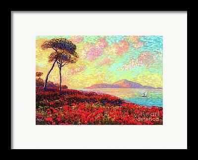 Red Sails Framed Prints