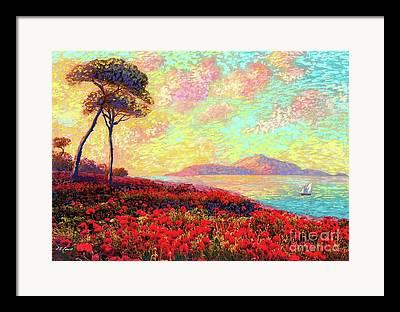 Italian Mediterranean Art Framed Prints