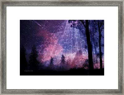 Enchanted By Your Love Framed Print by Joy Gerow
