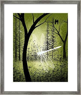 Enchanted Framed Print by Charlene Zatloukal