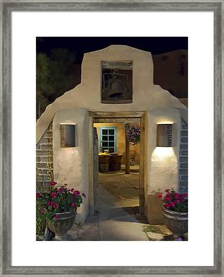 Enchanted Evening In New Mexico Framed Print by Kurt Van Wagner