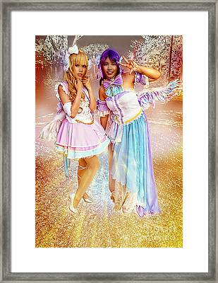 Enchanted Fairy Queens Framed Print by Ian Gledhill