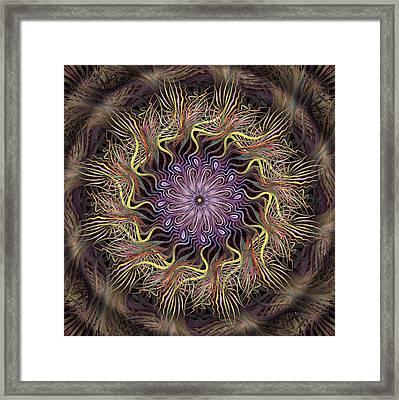 Enchanted Florist Framed Print