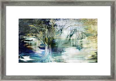 Enchanted Forest Framed Print by Lynda Payton