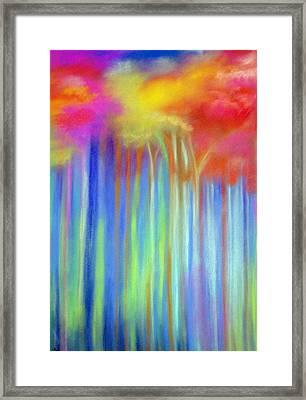 Enchanted Forest  Framed Print by Maritza Bermudez
