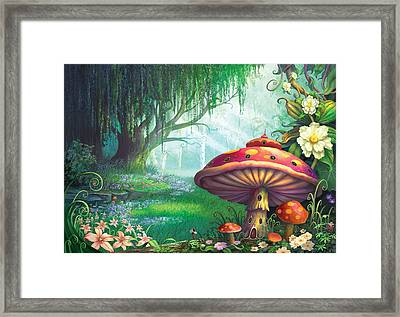 Enchanted Forest Framed Print by Philip Straub