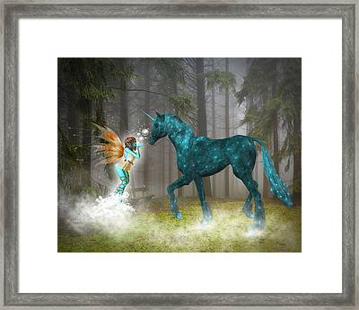 Enchanted Forest Framed Print by Solomon Barroa